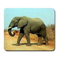 Elephant 2 Large Mousepad by photogiftanimaldesigns