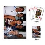 Hashimoto family - Playing Cards Single Design