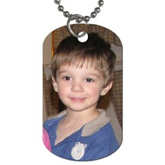 Toby Tag By Kimberly Cleven   Dog Tag (two Sides)   0yx3cd7nbopz   Www Artscow Com Front