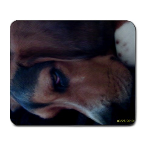 Tucker By Stacey Epro   Large Mousepad   N0ubzdk58yx0   Www Artscow Com Front