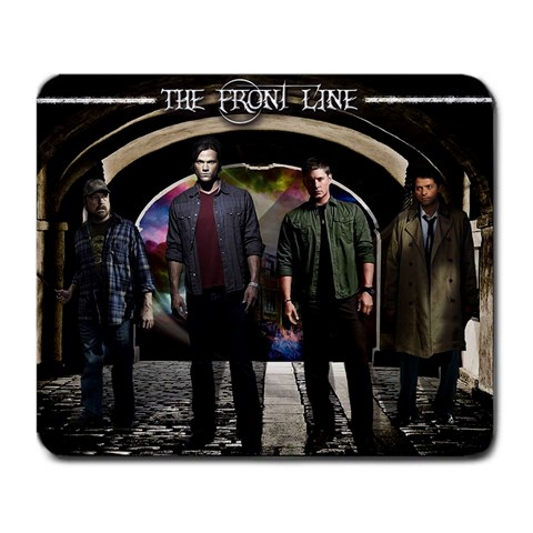 Supernatural  By Amanda Saunders   Large Mousepad   Xuy8onwq3qw6   Www Artscow Com Front