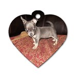 chloe #2 - Dog Tag Heart (Two Sides)