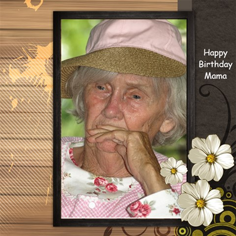 Happy Birthday Mama By Judy   Scrapbook Page 12  X 12    G0fmltgj4u64   Www Artscow Com 12 x12 Scrapbook Page - 1