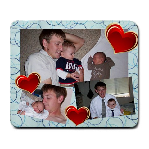 Father s Day Mouse Pad By Aubrey   Collage Mousepad   O8mfzy4cq1gz   Www Artscow Com 9.25 x7.75 Mousepad - 1