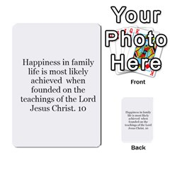 Article Of Faith  Prophets Revised2 By Thehutchbunch Fuse Net   Multi Purpose Cards (rectangle)   V2i7qirvt2ns   Www Artscow Com Back 53