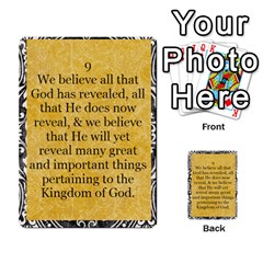 Article Of Faith  Prophets Revised2 By Thehutchbunch Fuse Net   Multi Purpose Cards (rectangle)   V2i7qirvt2ns   Www Artscow Com Front 9