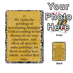 Article Of Faith  Prophets Revised2 By Thehutchbunch Fuse Net   Multi Purpose Cards (rectangle)   V2i7qirvt2ns   Www Artscow Com Front 11