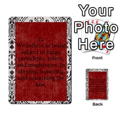 Article Of Faith  Prophets Revised2 By Thehutchbunch Fuse Net   Multi Purpose Cards (rectangle)   V2i7qirvt2ns   Www Artscow Com Front 12