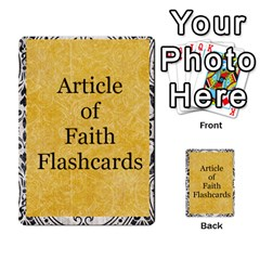 Article Of Faith  Prophets Revised2 By Thehutchbunch Fuse Net   Multi Purpose Cards (rectangle)   V2i7qirvt2ns   Www Artscow Com Front 14