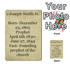 Article Of Faith  Prophets Revised2 By Thehutchbunch Fuse Net   Multi Purpose Cards (rectangle)   V2i7qirvt2ns   Www Artscow Com Back 33