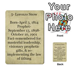 Article Of Faith  Prophets Revised2 By Thehutchbunch Fuse Net   Multi Purpose Cards (rectangle)   V2i7qirvt2ns   Www Artscow Com Back 37