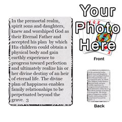 Article Of Faith  Prophets Revised2 By Thehutchbunch Fuse Net   Multi Purpose Cards (rectangle)   V2i7qirvt2ns   Www Artscow Com Front 50