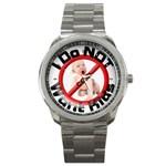 www.IdoNOTwantKids.com - Sport Metal Watch