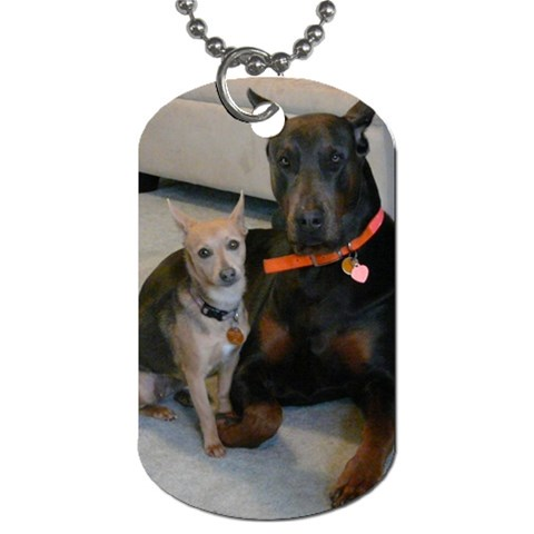 Zayn & Miley Dogtag By Jessica Meadows   Dog Tag (one Side)   9kc1wjym816w   Www Artscow Com Front