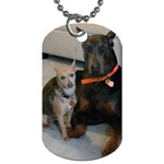 Zayn & Miley dogtag - Dog Tag (One Side)