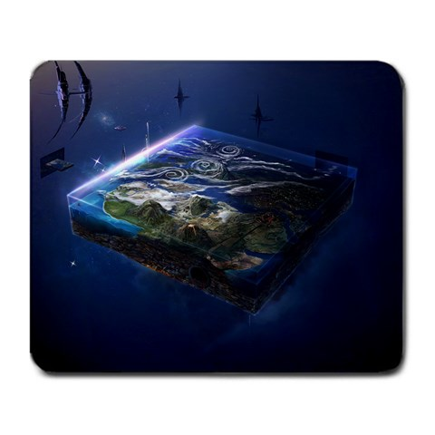 Space Spectrum By Zach Motley   Large Mousepad   8kfn0j4l3tji   Www Artscow Com Front