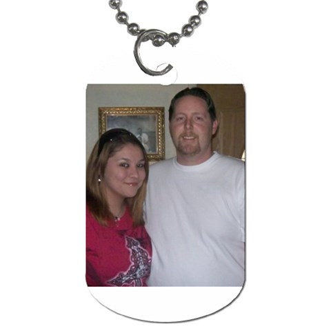 By Robyn Mitchell   Dog Tag (one Side)   Njx07r454o8s   Www Artscow Com Front
