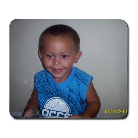 My Nathan By Carrie Sutton   Large Mousepad   Rdkn8xsx5ytt   Www Artscow Com Front