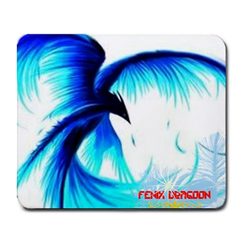 Fenix Dragoon By Nick Jeffries   Collage Mousepad   Vej9n5q5n7y5   Www Artscow Com 9.25 x7.75 Mousepad - 1