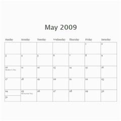 2009 Cal  By Joy Russell   Wall Calendar 11  X 8 5  (12 Months)   7uwaq7lkiq2g   Www Artscow Com May 2009