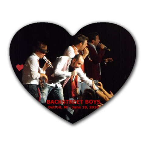 Bsb In Detroit Mousepad By Brein   Heart Mousepad   C4n0q2czdfsz   Www Artscow Com Front