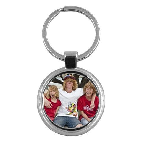 Fun Personalized Keyring From Artscow By Lauren   Key Chain (round)   M6zjwt1kyjsj   Www Artscow Com Front