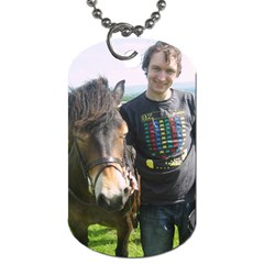 Archie Dogtag By Hannah Pagan   Dog Tag (two Sides)   Jq8b1uoh44bq   Www Artscow Com Front