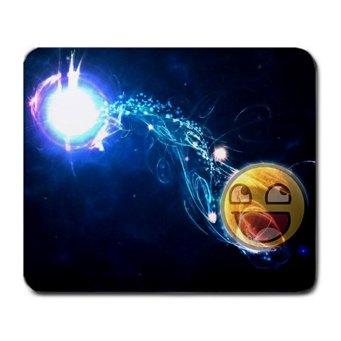 The Internet Is A Happy Place By Herpas Derpiedoe   Large Mousepad   0ghzlfutuo6u   Www Artscow Com Front