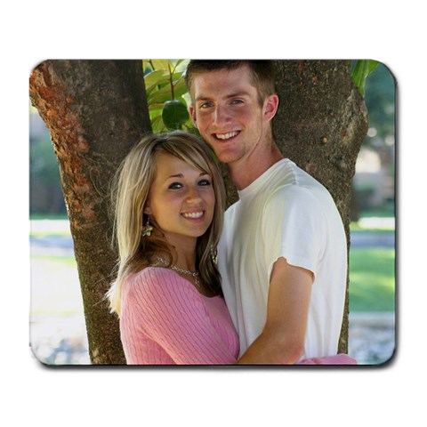 Timmy And Me By Amanda Bailey   Large Mousepad   1til7x2u2boc   Www Artscow Com Front