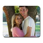 Timmy and me - Large Mousepad