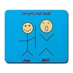 I ve got your back - Large Mousepad