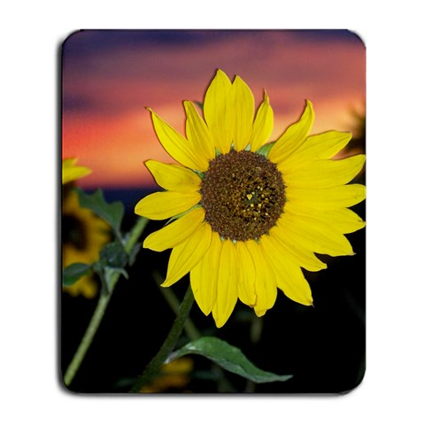 Sunflower By Jessrah    Large Mousepad   Qknd4u3zc742   Www Artscow Com Front