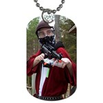 Playing Airsoft War Games - Dog Tag (One Side)