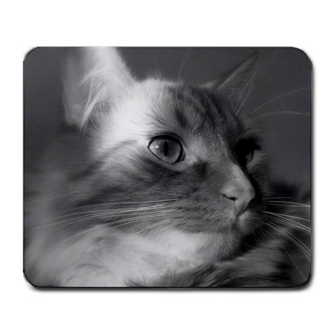 Kitty Mousepad By Eithne Whaley   Large Mousepad   71xwqopuw59d   Www Artscow Com Front