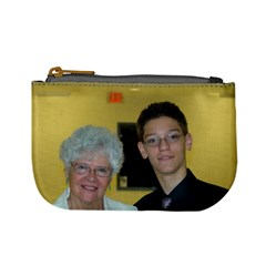 A Grandson And His Nana By Bethnoel   Mini Coin Purse   4gmilwy04ovd   Www Artscow Com Front