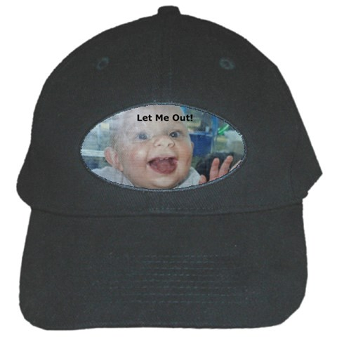 Cap By Susie Fisher   Black Cap   8ixtg0f4icwb   Www Artscow Com Front