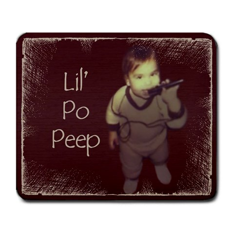 Lil  Po Peep Mousepad By Jessica Navarro   Large Mousepad   Kkqnn3dflh64   Www Artscow Com Front