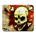 Grunge skulled pad - Collage Mousepad
