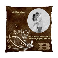 Sheena And Stefan By Sheena Rogers Bader   Standard Cushion Case (two Sides)   O11kk4sqgwc2   Www Artscow Com Front