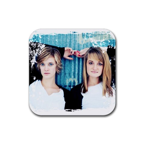 B$e By Alana Myers   Rubber Coaster (square)   3igulo8owx8a   Www Artscow Com Front