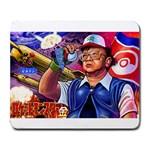 NorthKoreaTheBestKorea - Large Mousepad