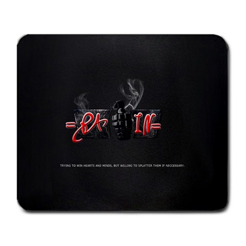 =pain= Clan Logo By Richard Rahl   Large Mousepad   Ryo8wcq5f4fv   Www Artscow Com Front