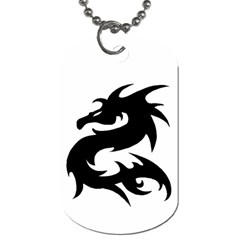 Dragon Tattoo By Kerri Morgan   Dog Tag (two Sides)   0xq2uz6b0tlx   Www Artscow Com Front