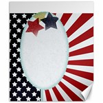 patriotic - Canvas 8  x 10