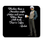 Godot quote - Large Mousepad