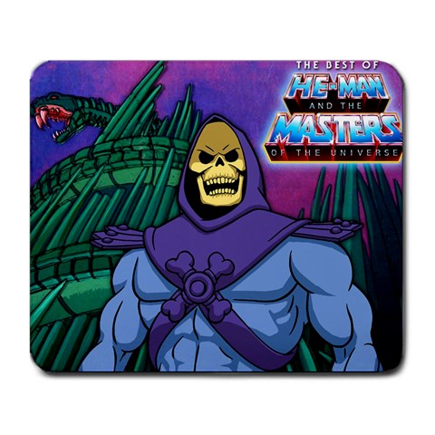 Skeletor! By Jamian Vuong   Large Mousepad   27evf6eudmvt   Www Artscow Com Front