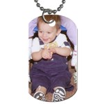 Isaiah dog tag - Dog Tag (One Side)