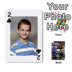 Grandkids Playing Cards By Kathy Rayhons   Playing Cards 54 Designs   F4o6p7nstq3k   Www Artscow Com Front - Club2