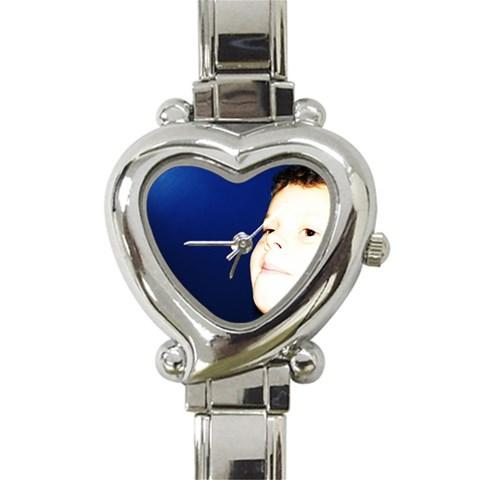 Jamie Watch By Tracy Shave   Heart Italian Charm Watch   Um7wka9z2ob5   Www Artscow Com Front