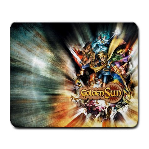 Golden Sun Mousepad By David Stuart   Large Mousepad   Tcbqrrwudf57   Www Artscow Com Front